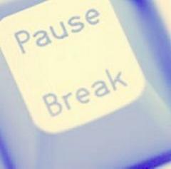 Une représentation actualisée d'une pause.